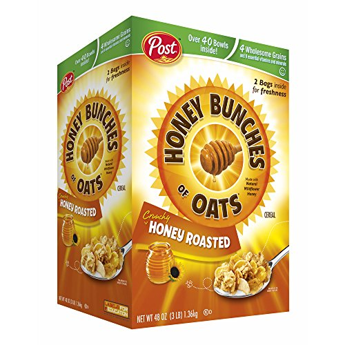 Post Honey Bunches of Oats Honey Roasted 48 oz