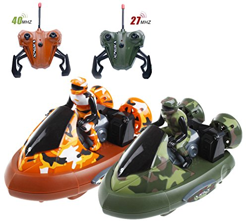 Remote Control Bumper Cars - Bump 'n Eject Toy RC Bumper Cars (RC 2 Player Game with 2 Radio Control Vehicles)