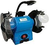 Gude 55122 amoladora de banco 2 discos 2950 RPM 550 W - Bench grinders (2 discos, Azul, 2950 RPM, 550 W, 15 kg, 16,2 kg)