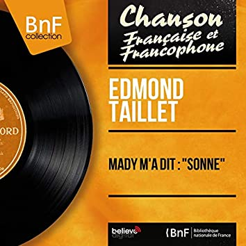 "Mady m'a dit : ""Sonne"" (feat. Christian Chevallier et son orchestre, Les Angels) [Mono Version]"
