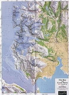 Monte Fitz Roy and Cerro Torre 1:50,000 Topographic Map