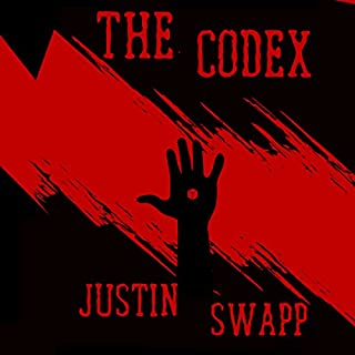 The Codex audiobook cover art