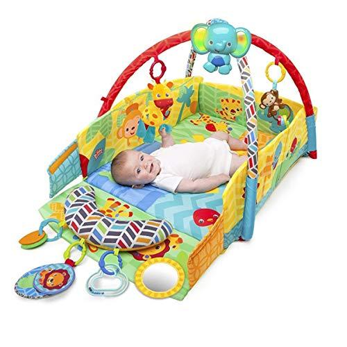Gimnasio Bebé Multiactividades; Manta De Actividades Para Bebé; Alfombra Para Gateo Con Motivo Animal León Infantil, Parque De Juegos Bebé, Gimnasio Para Bebé