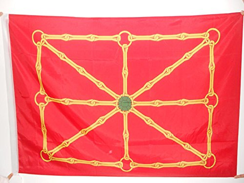AZ FLAG Bandera de NAVARRA INDEPENDENTISTA 150x90cm para Palo - Bandera EGIONALISMO Navarro 90 x 150 cm