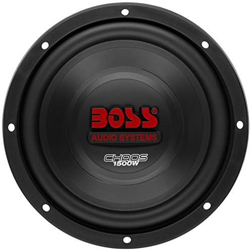 BOSS Audio Systems CH10DVC 1500 Watt, 10 Inch, Dual 4 Ohm Voice Coil Car Subwoofer