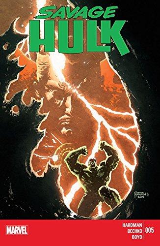 NM `14 Hardman// Bechko Savage Hulk #5