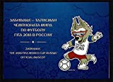 LaVecchiaScatola 2017 Rusia FIFA 2018 World Cup Folder Mascotte Unusual