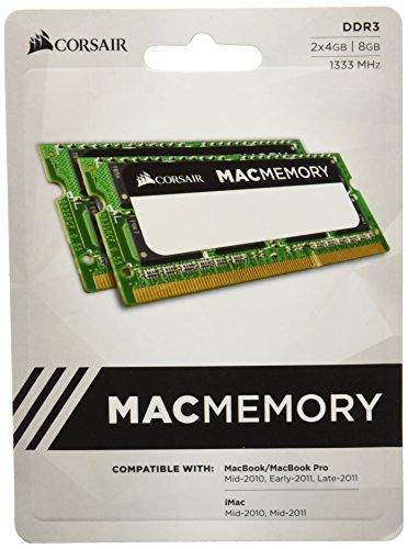 Densità: 8GB (2x4GB) Velocità: 1333MHz CL9 Timing: 9-9-9-24 Tensione: 1,5V Tipo: DDR3
