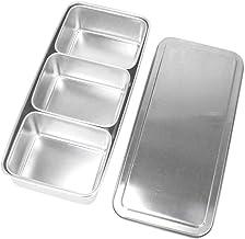 Spice Rack Seasoning Box Stainless Steel Restaurant Japanese Seasoning Box Square Box Seasoning Storage Box for Kitchen St...