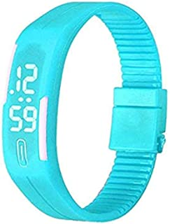 WSSVAN Toque creativo LED inteligente pulsera reloj hombres