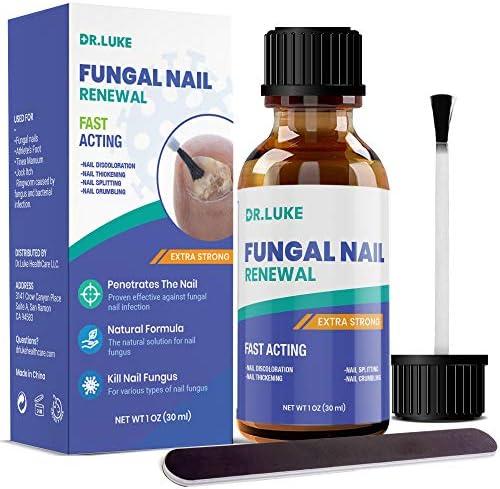 Dr Luke Finger Nail And Toe Nail Fungus Treatment Extra Strength Fungal Nail Renewal Fungus product image