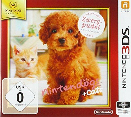 Nintendogs + Cats: Zwergpudel & Neue Freunde - Nintendo Selects - [3DS]