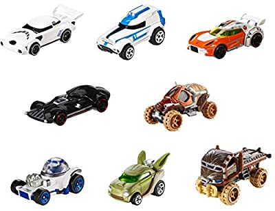 Hot Wheels Star Wars Character Car 8 Pack