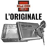 Blind OBD KeyPlus - Blindatura per presa dati OBD by BlockBox - Protezione diagnosi auto - Acciaio Inox 304 - Chiave cifrata - Block Box Antifurto