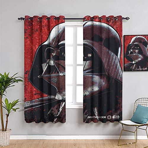 Star Wars Rogue One Wanted Darth Vader - Cortinas de ventana personalizadas, diseño de Darth Vader