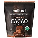 Best Cocoa Powders - Milliard Organic Cacao Powder / Non-GMO and Gluten Review