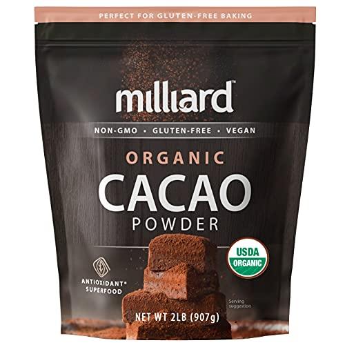 Milliard Organic Cacao Powder / Non-GMO and Gluten Free (2 pound (pack of 1))