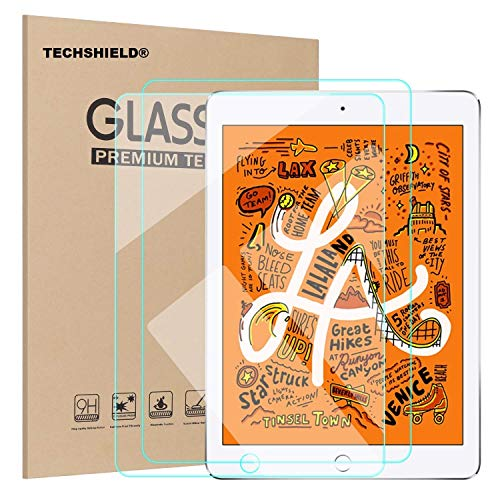 TECHSHIELD® Screen Protector for iPad Mini 5 2019 / iPad Mini 4 - Tempered Glass/Apple Pencil Compatible/Scratch Resistant[PACK OF 1]