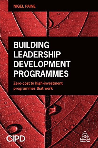 Building Leadership Development Programmes Zero Cost To High Investment Programmes That Work