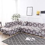 HYRGLIZI Protecteur de meubles pour animaux de compagnie pour Chien, housse de canapé housse de Chaise Longue en Tissu extensible, Combinaison canapé Salon protecteur de meubles antidérapant-30_4 PLA