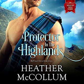 A Protector in the Highlands audiobook cover art