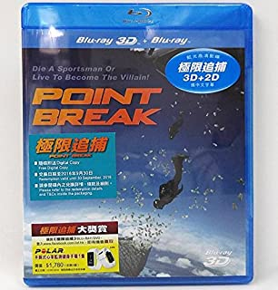Point Break 2D + 3D (Region A Blu-Ray) (Hong Kong Version / Chinese subtitled) 極限追捕