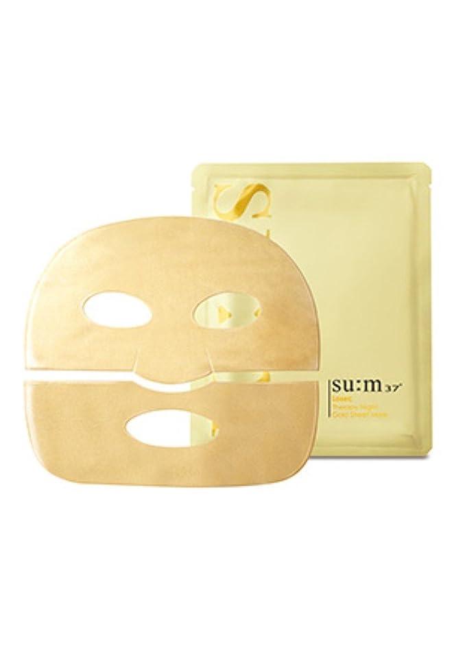 曲がった速度ガウンsu:m37° Losec Therapy Night Gold Sheet Mask 7Sheets/スム37° ロセック セラピー ナイト ゴールド シートマスク 7枚