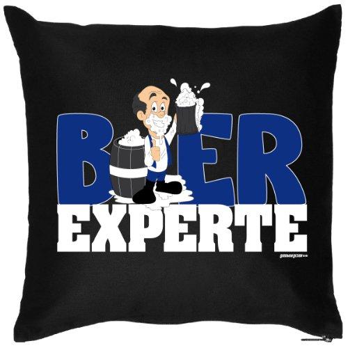 Bier Experte Spaßiges Kissen