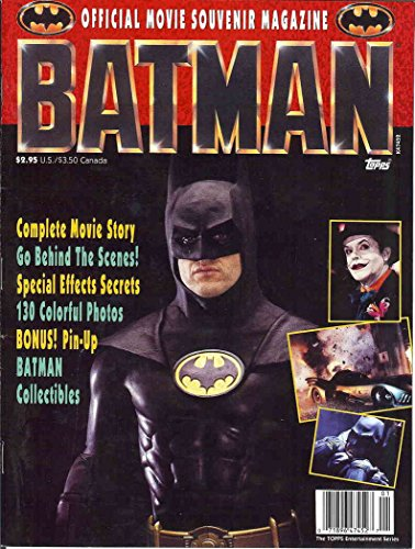 Batman: Official Movie Magazine #1 VF ; Topps comic book