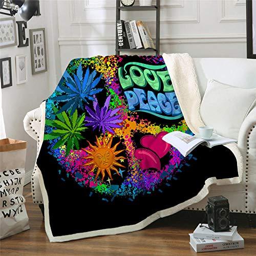 Xzfddn Acuarela mariposa terciopelo felpa manta colorida sherpa manta para cama sofá paz diseño fino edredón modelo 2