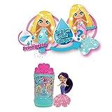 Seasters - Magiche Principesse Sirene trasformabili, mini personaggi con lunghi capelli da pettinare e un...