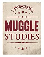 (S)Tin Sign Small - Hp (Muggle Studies) (One Size) - N/A - One Size