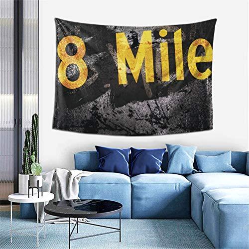 Tapiz para colgar en la pared de 8 millas suaves para decoración del hogar para sala de estar, dormitorio, 156 x 100 cm