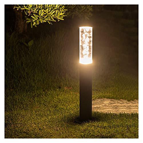 PENGYMY Lámpara de césped 30CM / 50CM jardín al Aire Libre del césped de la lámpara 7W acrílico Burbujas Baliza Luz Villa Paisaje Camino Pilar luz del césped