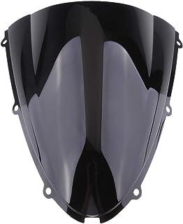 sourcing map Motorrad Windschutzscheibe ABS Kunststoff 2000-2002 KAWASAKI NINJA ZX6R Schwarz de
