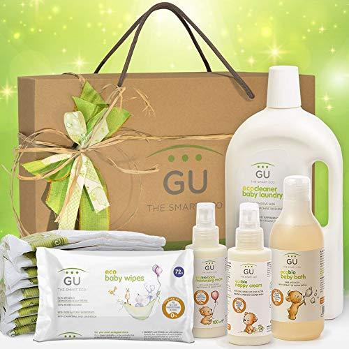 GU Canastilla Ecológica Bienvenido Bebé - 6 Unidades