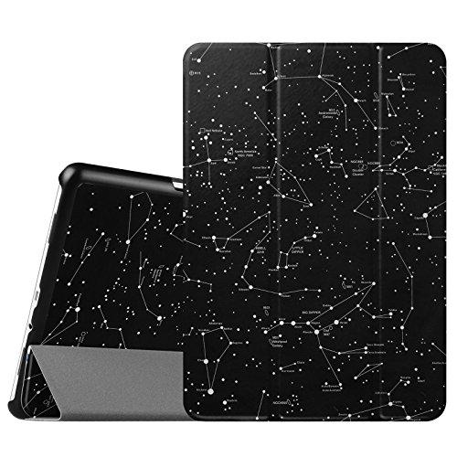 Fintie SlimShell Funda para Samsung Galaxy Tab A 9.7' - Súper Delgada y Ligera Carcasa con Función de Soporte y Auto-Reposo/Activación para Modelo SM-T550N / T555N, Constelación