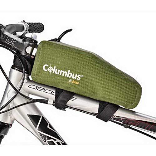 COLUMBUS-Frame Bag Green Borsa da tealio