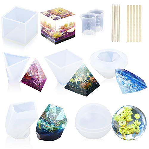 LETs RESIN 6 Pack Resin Molds