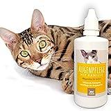 EMMA Limpiador Ocular I Cuidado Ocular para Gatos I Limpieza Ocular Suave y Delicada I Elimina la Suciedad y el Polvo con suavidad I 100 ml