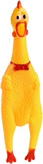 TOYANDONA Squawking Rubber Chickens Dozen Screaming Shrilling Shrieking Chicken Noisemakers Novelty Gag Dog Toy Party Funn...