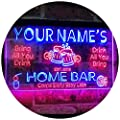 ADVPRO Personalized Your Name Custom Home Bar Beer Established Year Dual Color LED Neon Light Sign Dual Color LED Neon Sign st6-p1-tm