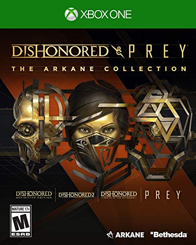 Dishonored and Prey: The Arkane Collection Xbox One for 19.99