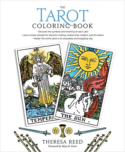 tarot coloring books