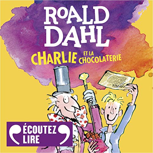 Charlie et la chocolaterie cover art