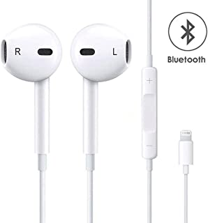 BestTrendy iphone イヤホン Lightning イヤフォン 高音質 Bluetooth接続要 充電不要で使用 リモコン付き マイク付き iPhoneX/iPhone8/8Plus/7/7Plus/6S/6/5s/5C/5/iPadに対応