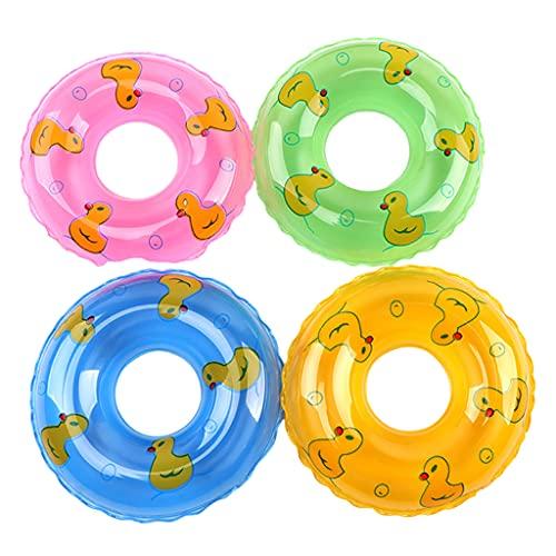 Nobranded Juguetes de baño flotantes Juego de Pesca natación Ducha Fiesta Juegos Coloridos Juguetes Agua diversión para niños niñas - Swimming Ring