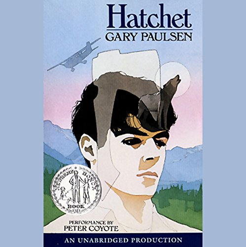 Hatchet                   By:                                                                                                                                 Gary Paulsen                               Narrated by:                                                                                                                                 Peter Coyote                      Length: 3 hrs and 42 mins     4,294 ratings     Overall 4.7