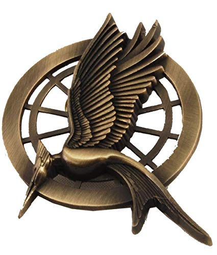 The Hunger Games Catching Fire Movie Prop Replica Mockingjay Pin by The Hunger Games