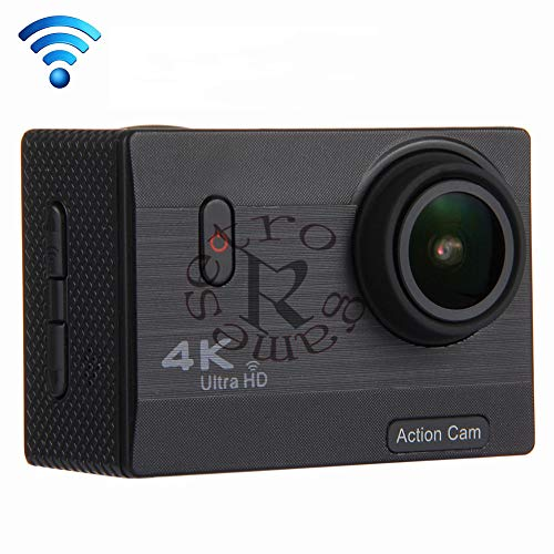 ZYJANO Action Camera 4k groothoek action camera waterdicht HD-scherm waterdichte camera sport DV auto registratie